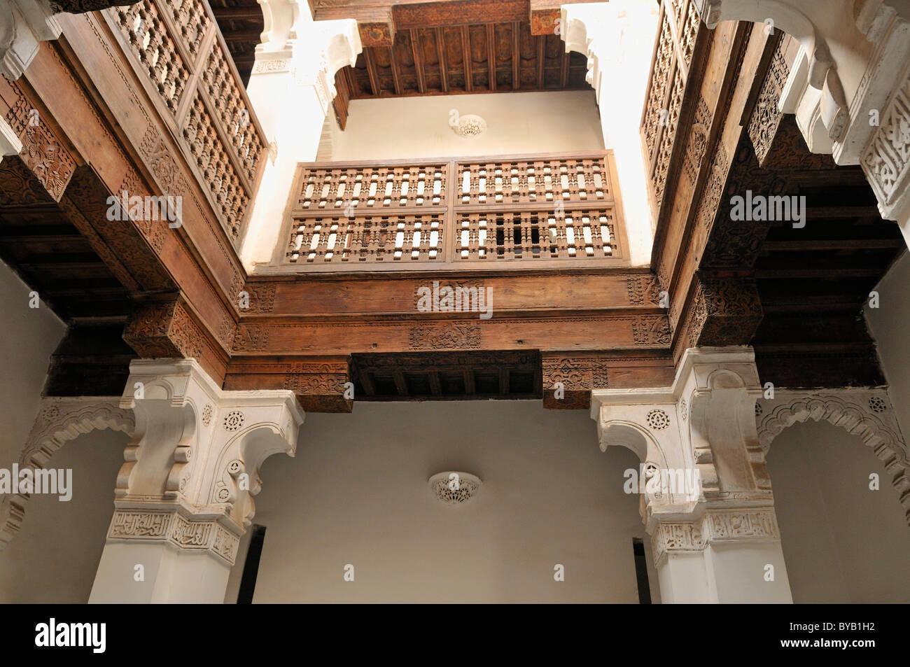 Marrakech Decoration D Interieur décoration d'intérieur de la medersa ben youssef à marrakech