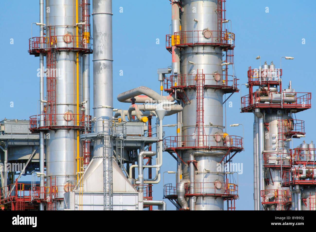 Refinery Photo Stock