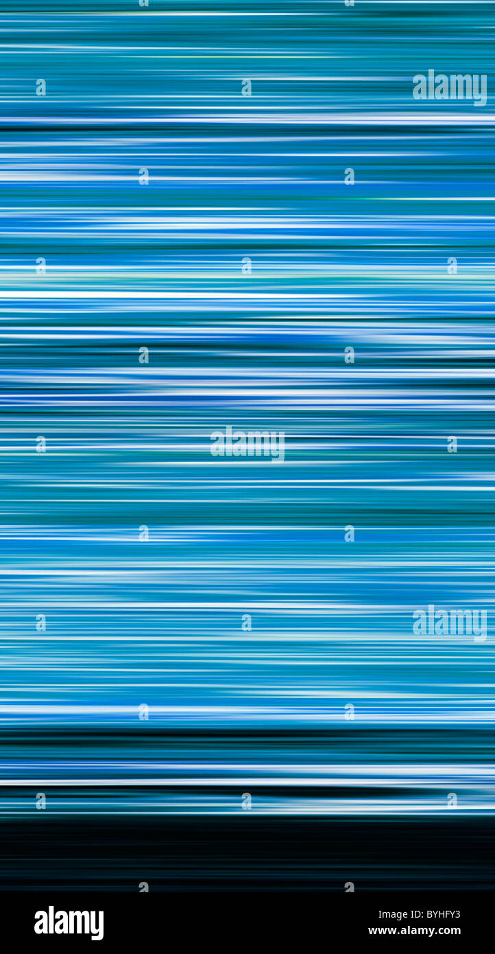 Résumé La couleur, la couleur - bandes horizontales Banque D'Images