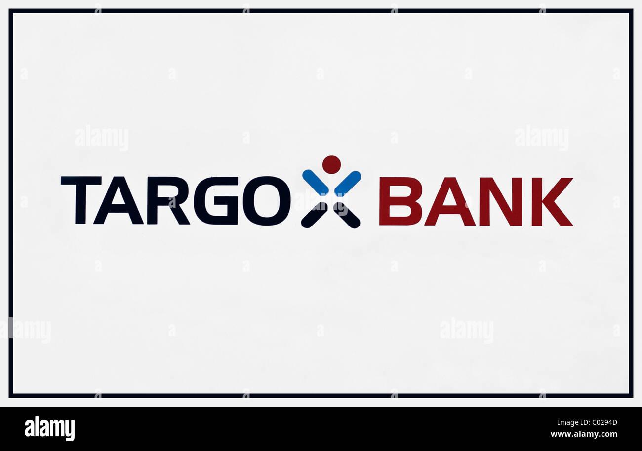 Logo et lettrage, Targo Bank Photo Stock