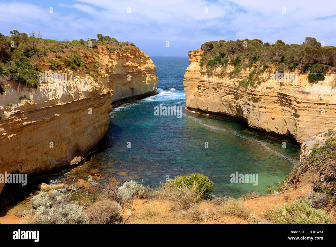 Loch Ard Gorge, Port Campbell National Park, Victoria, Australie Photo Stock