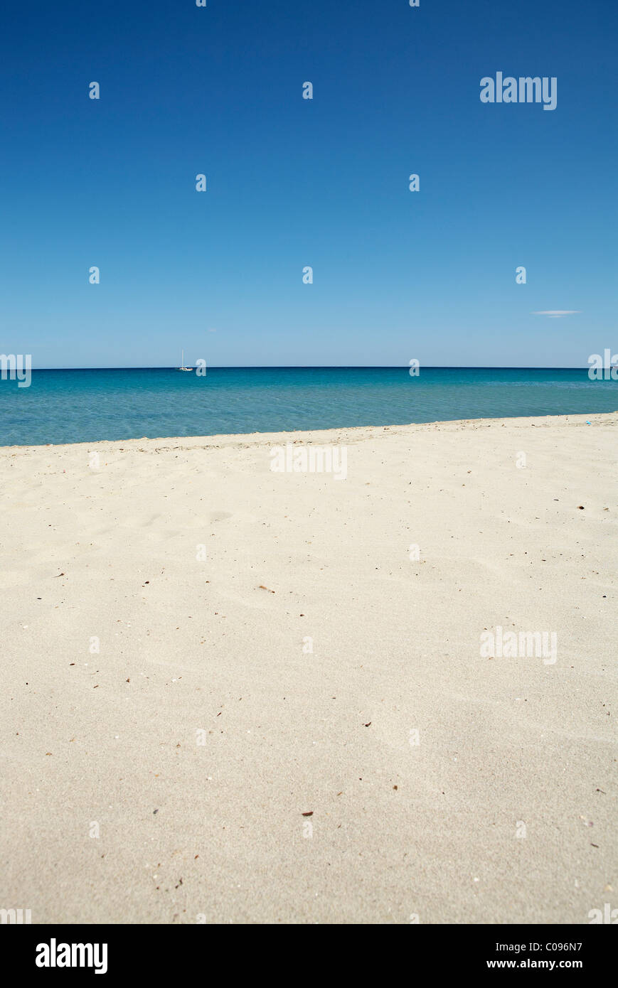 Plage, horizon Photo Stock