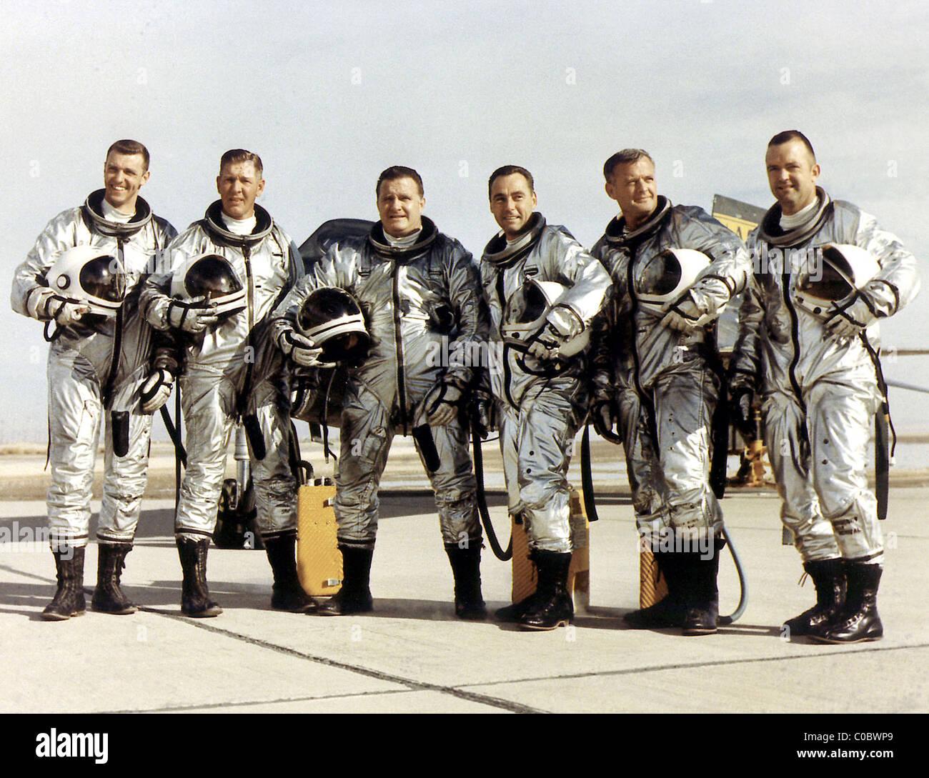 L'équipage de la NASA X-15 Photo Stock