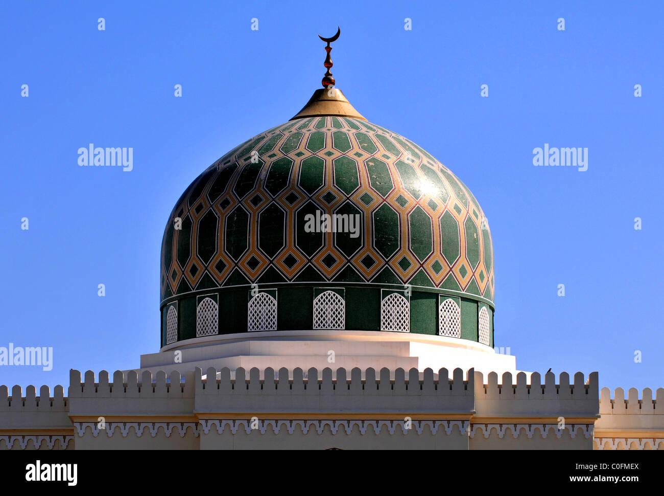 Grande Mosquée de Al Rustaq. Le Sultanat d'Oman. Photo Stock