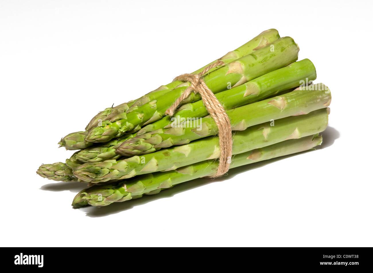 bouquet d'asperges Photo Stock