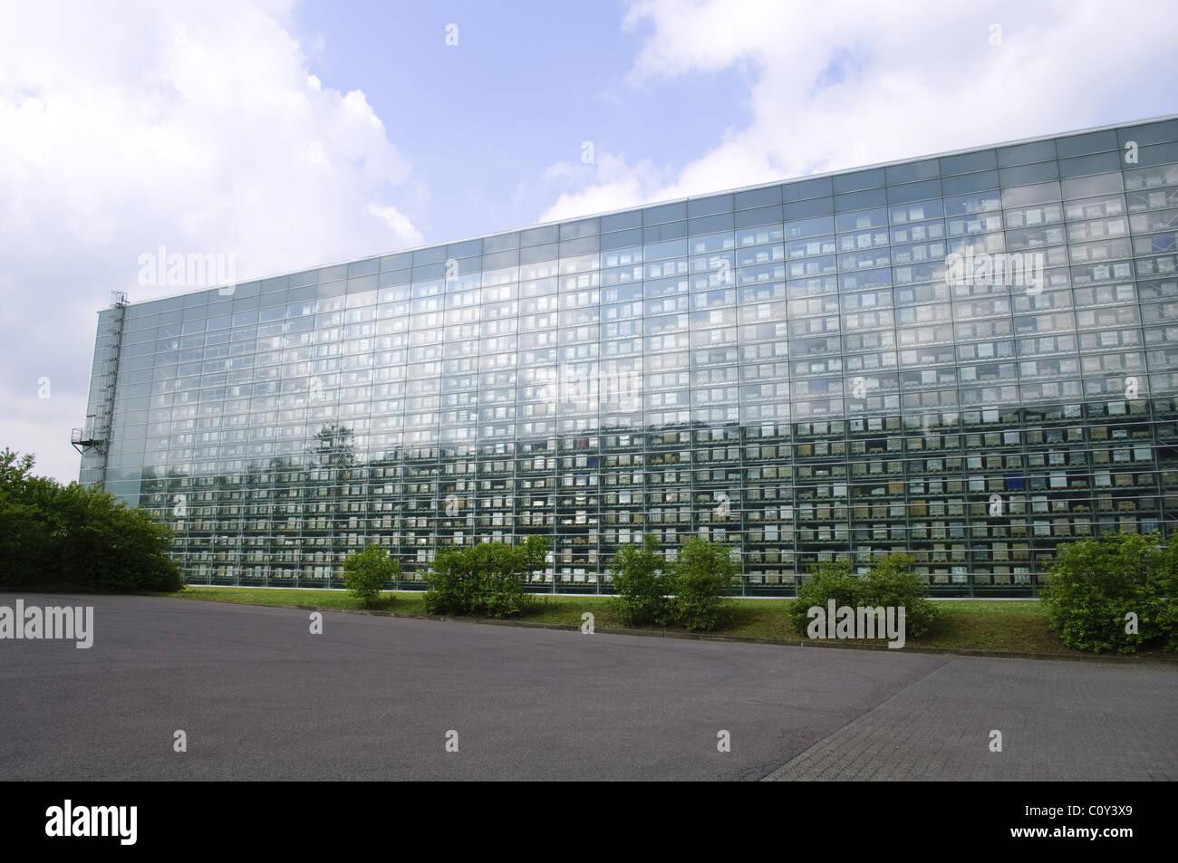 Entrepôt de distribution Villeroy & Boch à Merzig, Sarre, Allemagne Photo Stock