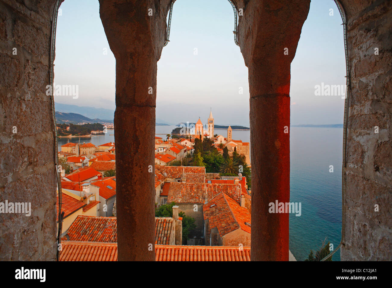 Rab Croatie Photo Stock