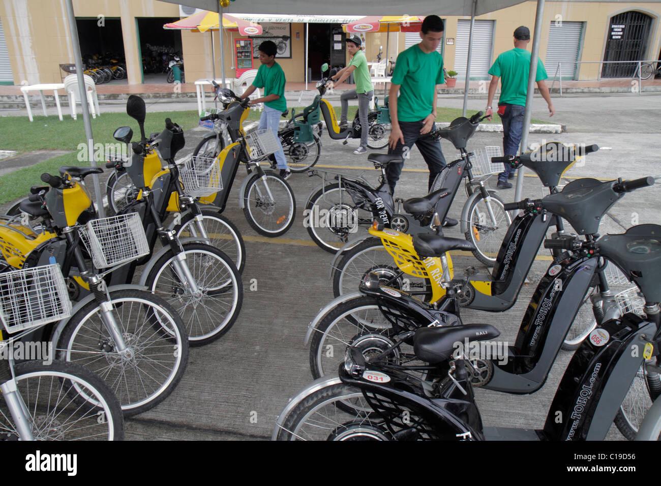 Panama City Panama location de vélos électriques d'Amador pour louer des vélo Vélo loisirs Photo Stock