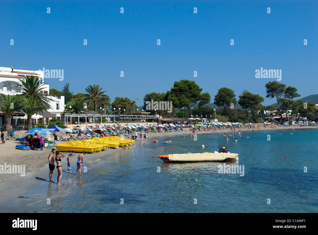 Es Cana, Ibiza, Baléares, Espagne Photo Stock