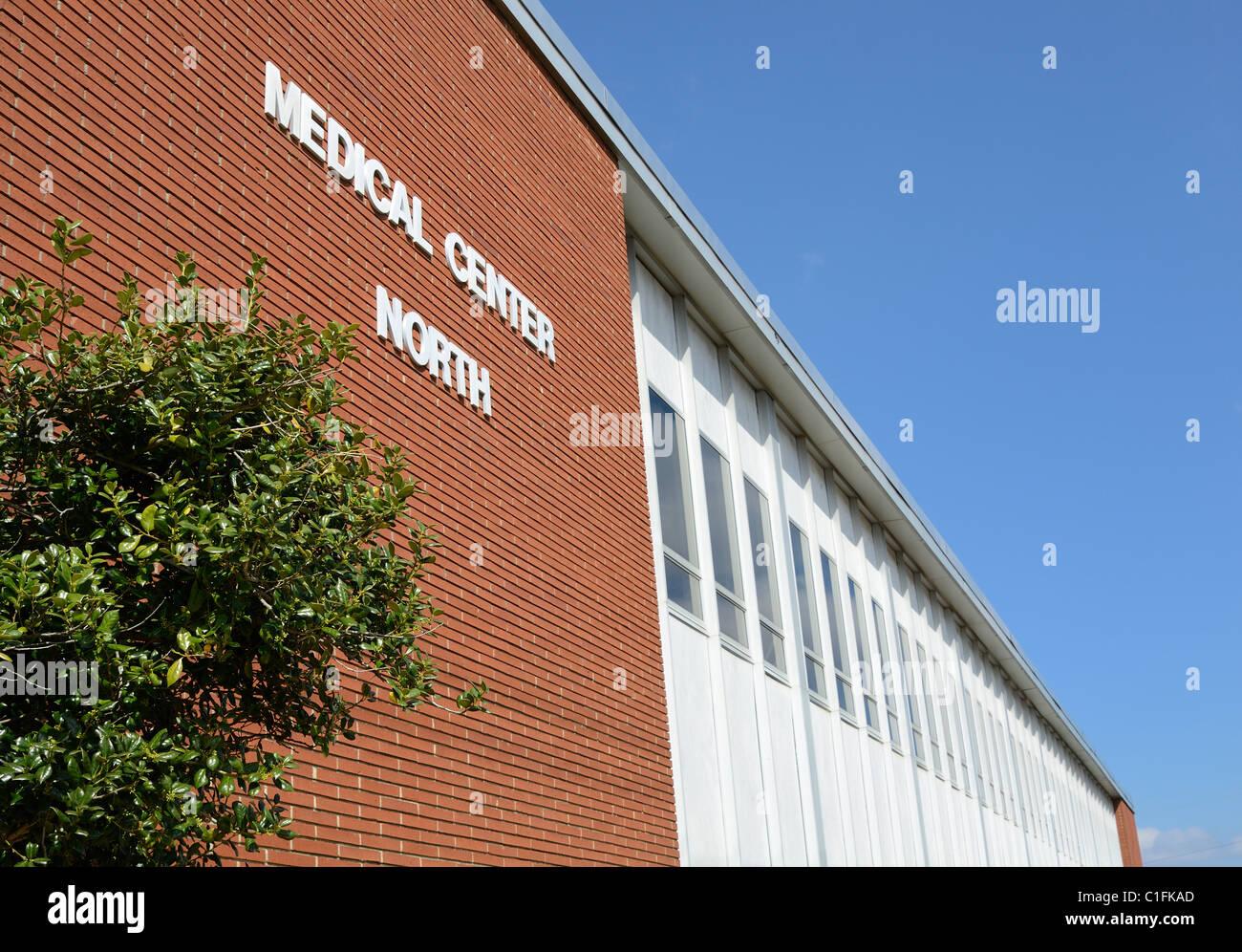 Aile nord d'un centre médical Photo Stock