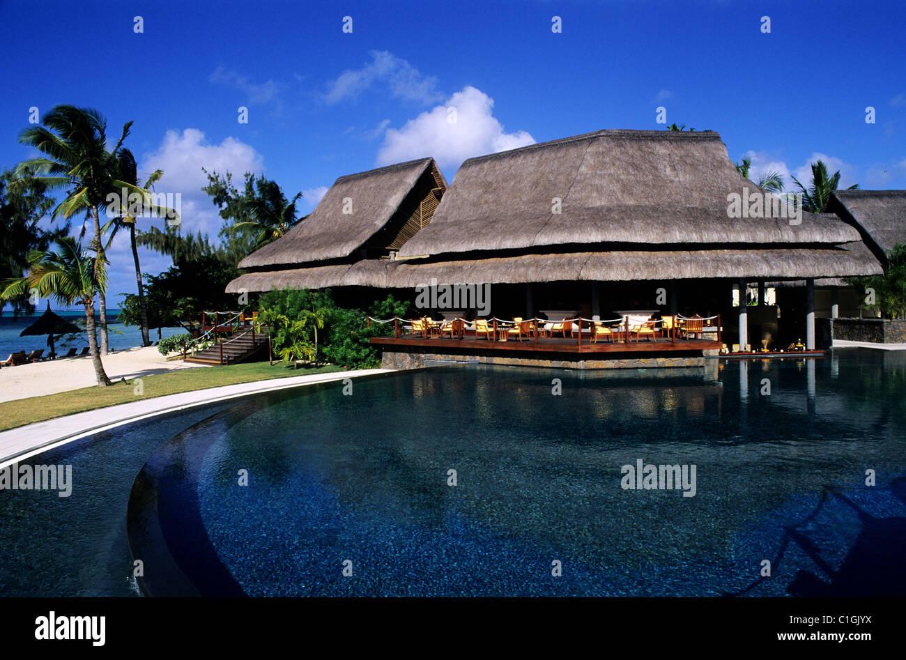 Maurice Islande, Île Maurice hôtel luxe Photo Stock