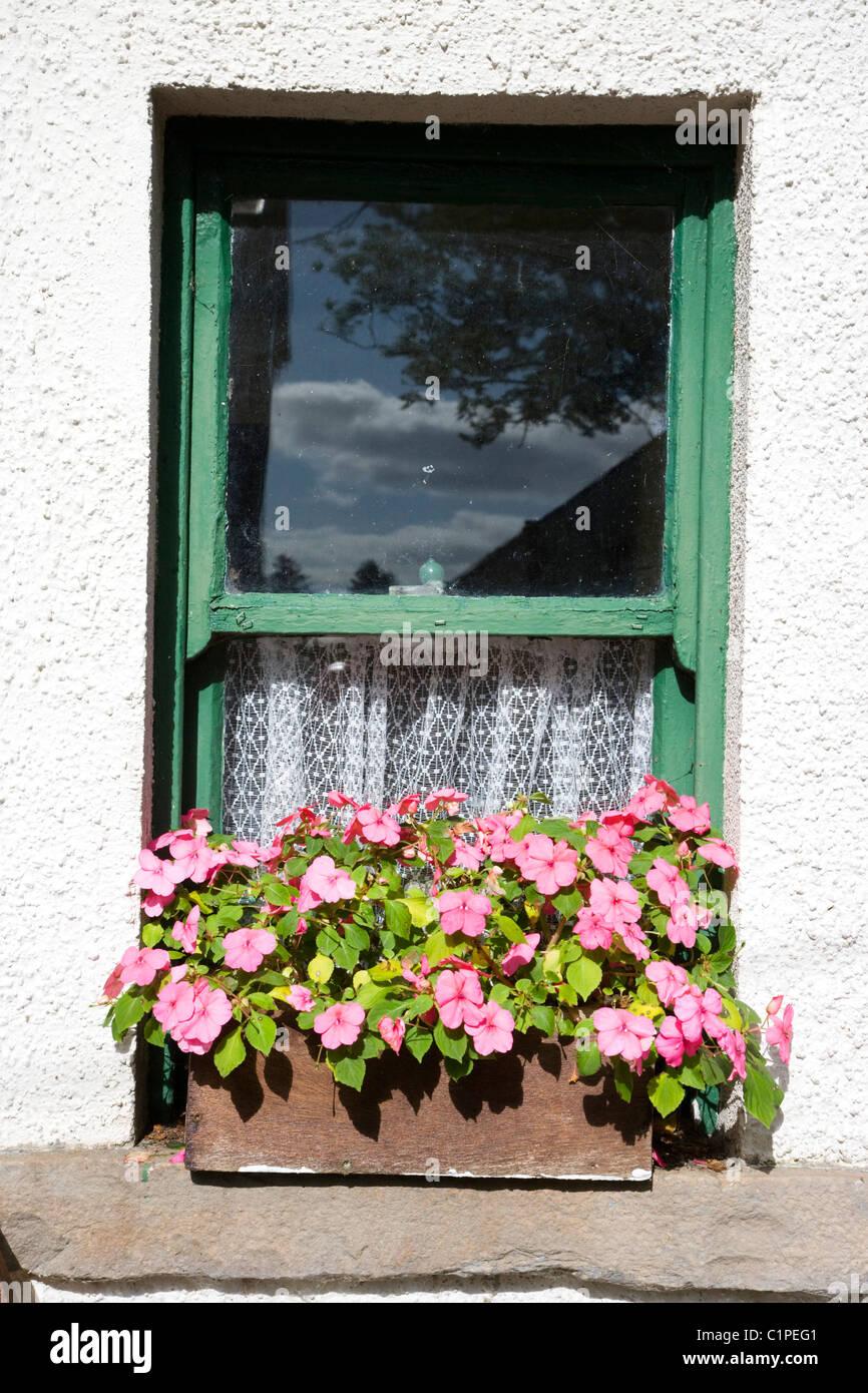 République d'Irlande, Comté de Sligo, Sligo Folk Park Photo Stock