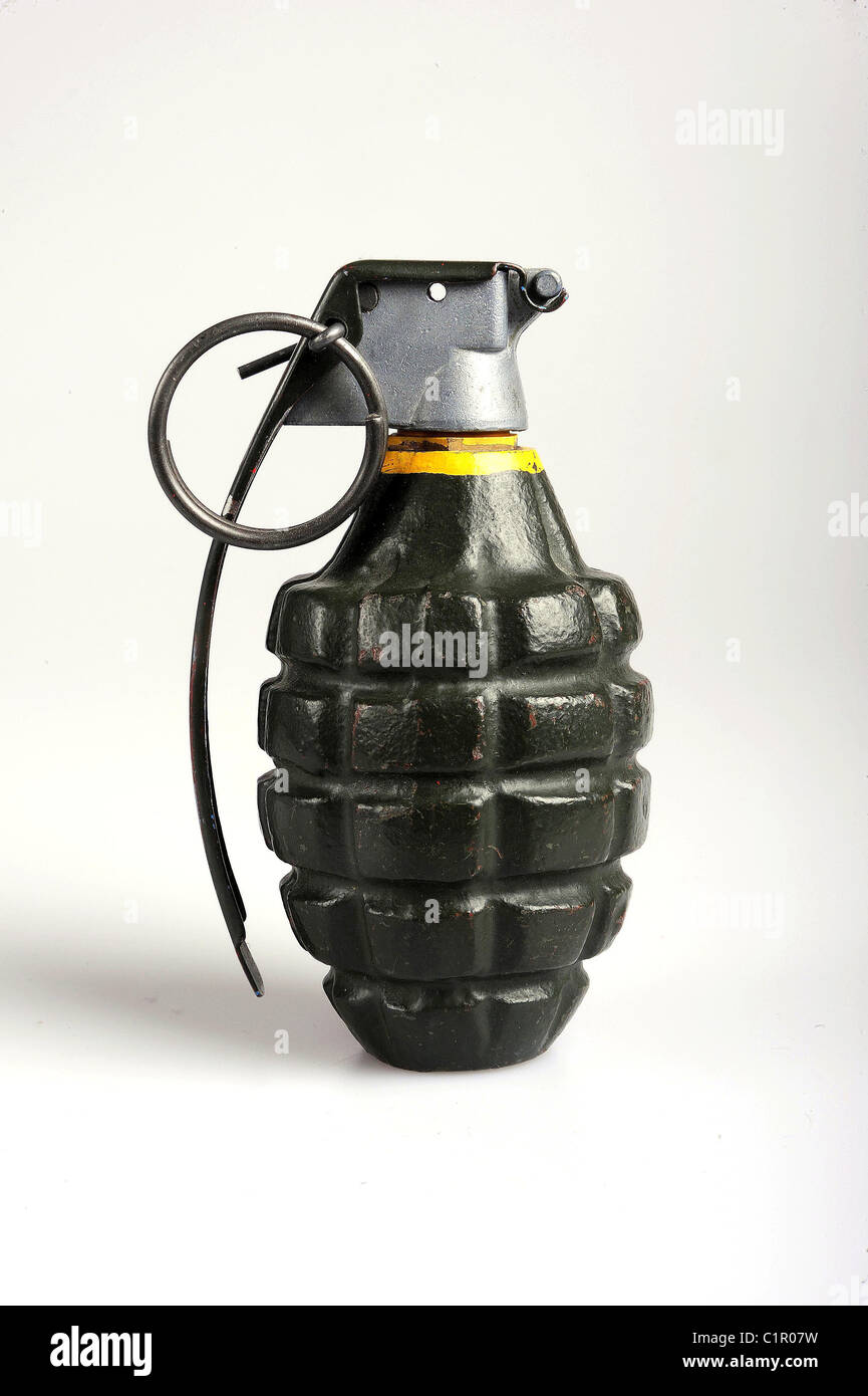 Une grenade d'ananas. Banque D'Images