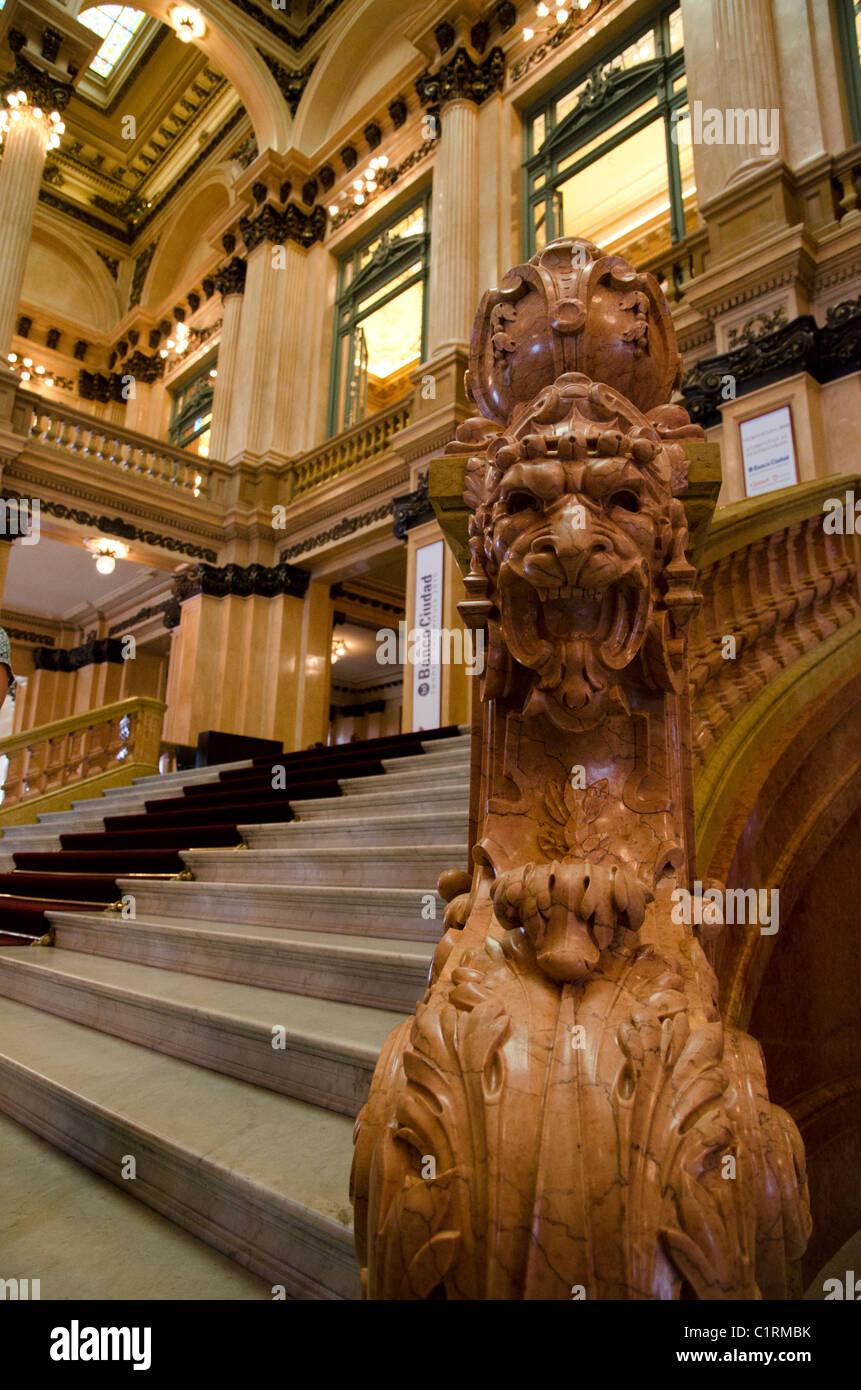 De l'intérieur Théâtre Colon (Teatro Colon), Buenos Aires, Argentine Photo Stock - Alamy