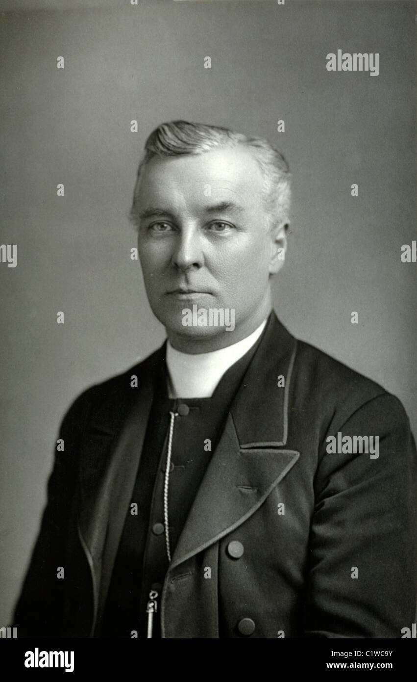 Portrait de Fleming, Canon ecclésiastique britannique Photo Stock