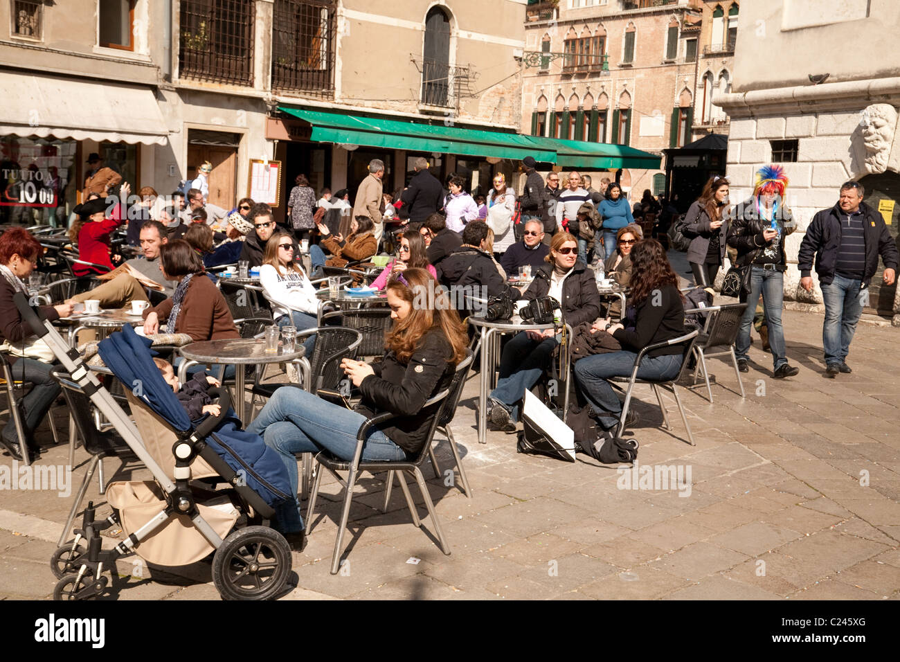 italy cafe photos italy cafe images alamy. Black Bedroom Furniture Sets. Home Design Ideas