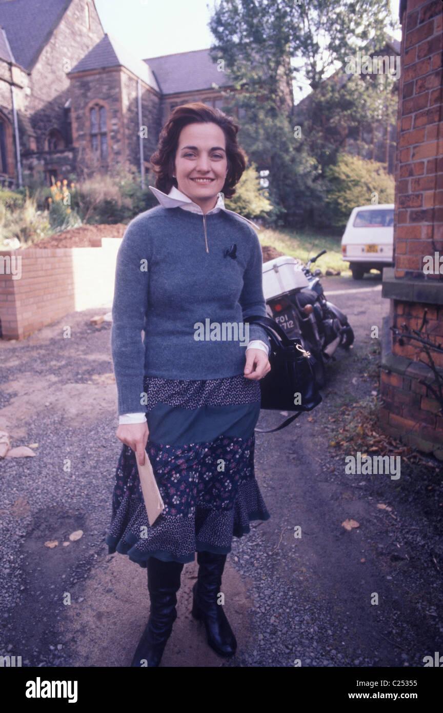 L'Irlande du Nord des années 1970, les troubles du mouvement de la paix Mairead Corrigan Belfast Gens de Photo Stock