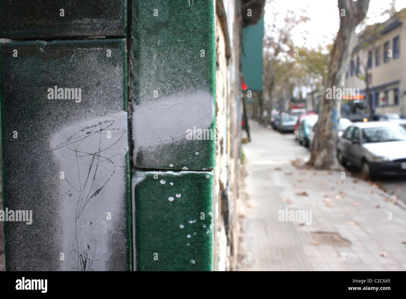 Palerme / Montevideo / Uruguay. Photo Stock