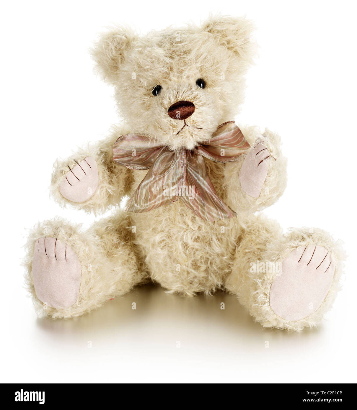 Cute Bear soft toy Photo Stock