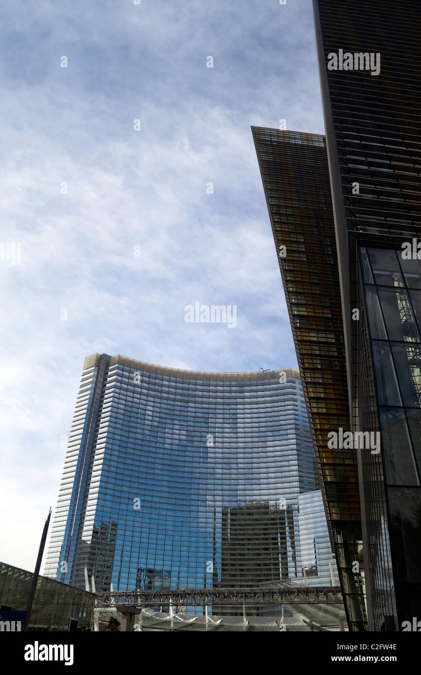 30 décembre 2009 - Las Vegas, Nevada, USA - Le grand complexe CityCenter Banque D'Images