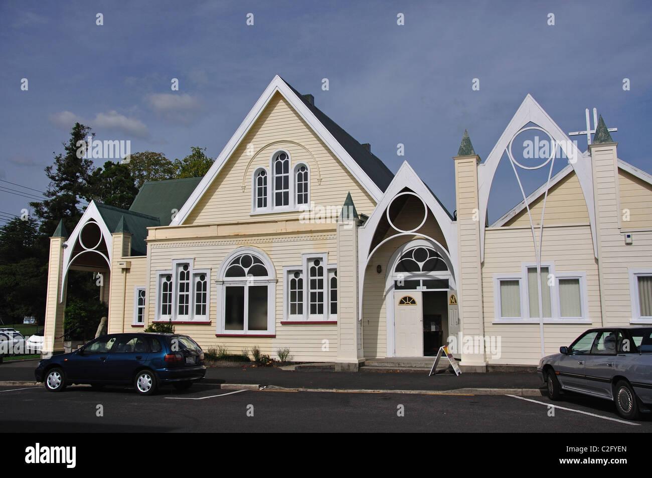 Coopérant Paeroa Church, rue MacKay, Paeroa, de la région de Waikato, Nouvelle-Zélande, île Photo Stock