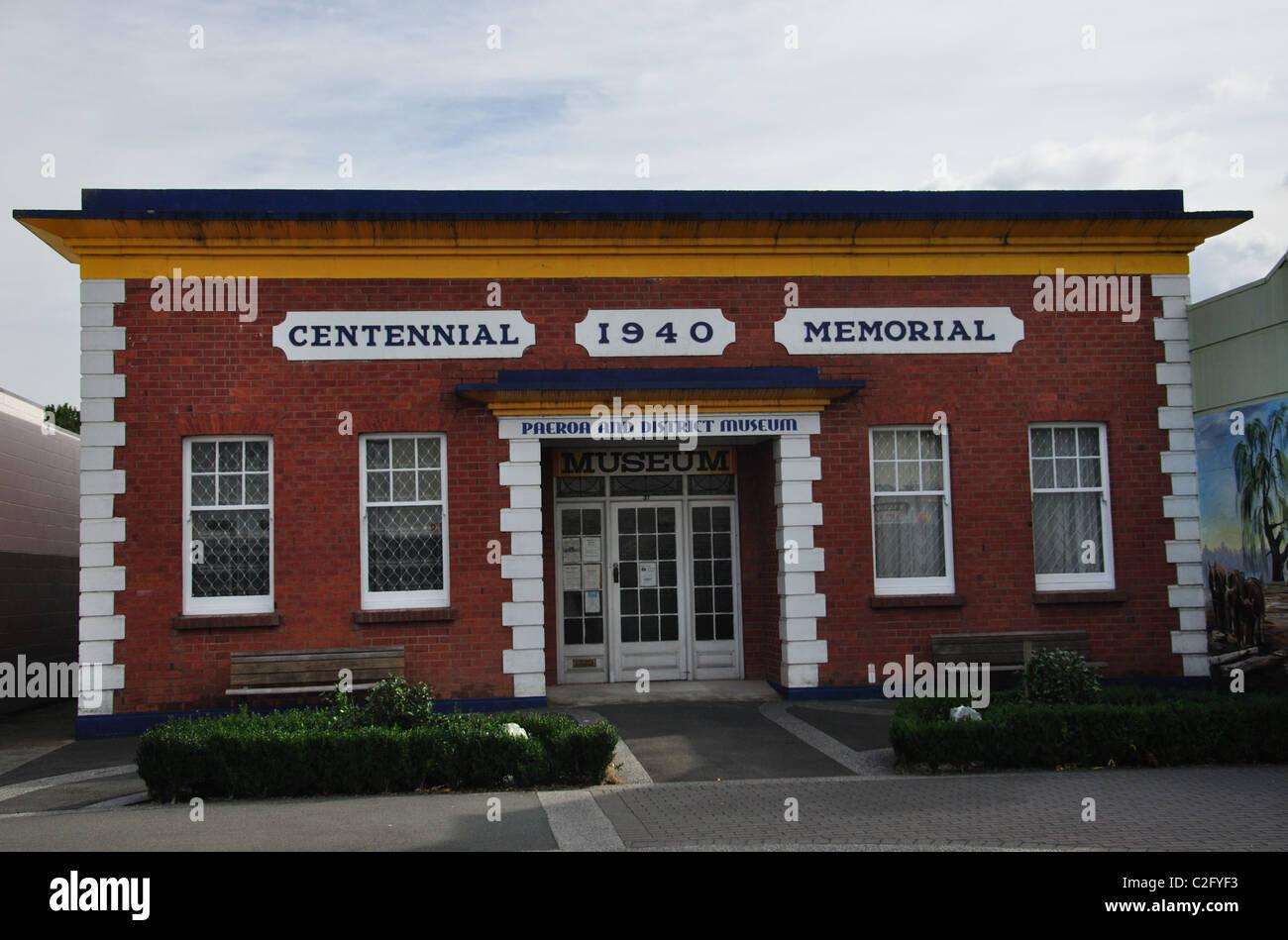 Paeroa and District Historical Museum, Belmont Road, Paeroa, de la région de Waikato, Nouvelle-Zélande, Photo Stock