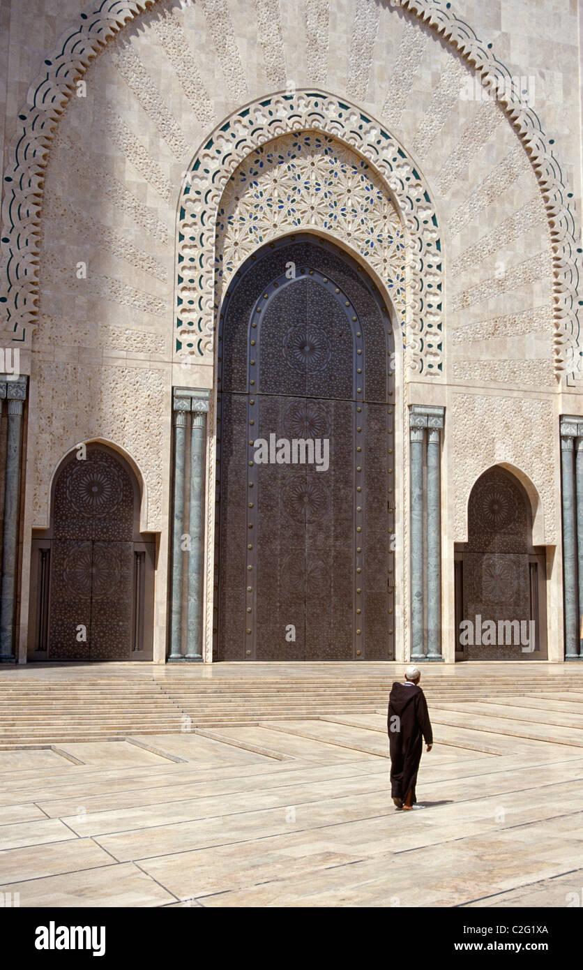 Casablanca Maroc Banque D'Images