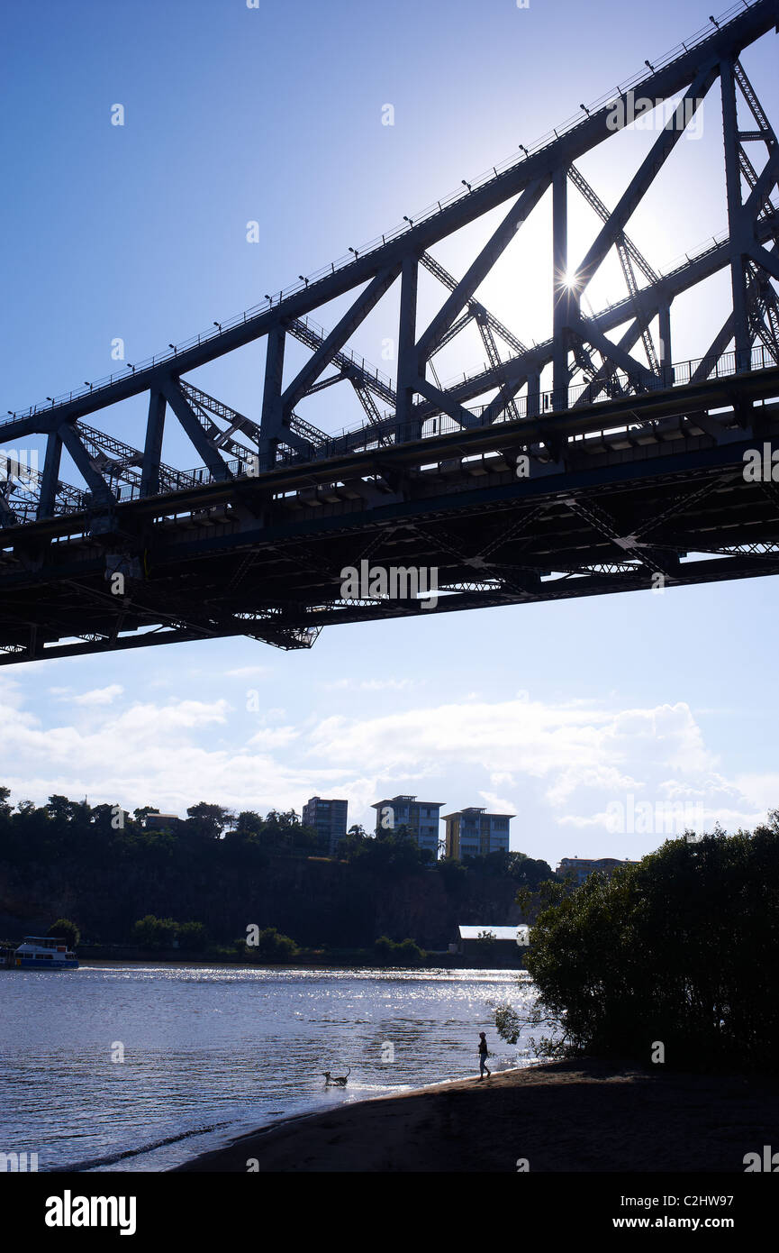 L'Australie Brisbane Story Bridge Photo Stock