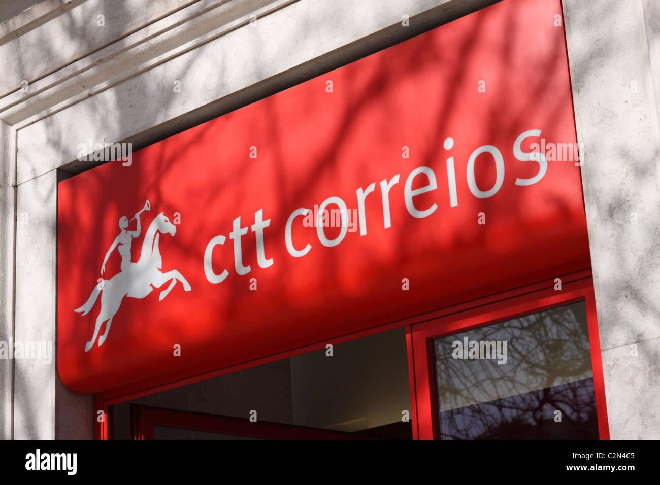 Bureau de poste portugaise ctt correios de portugal lisbonne banque
