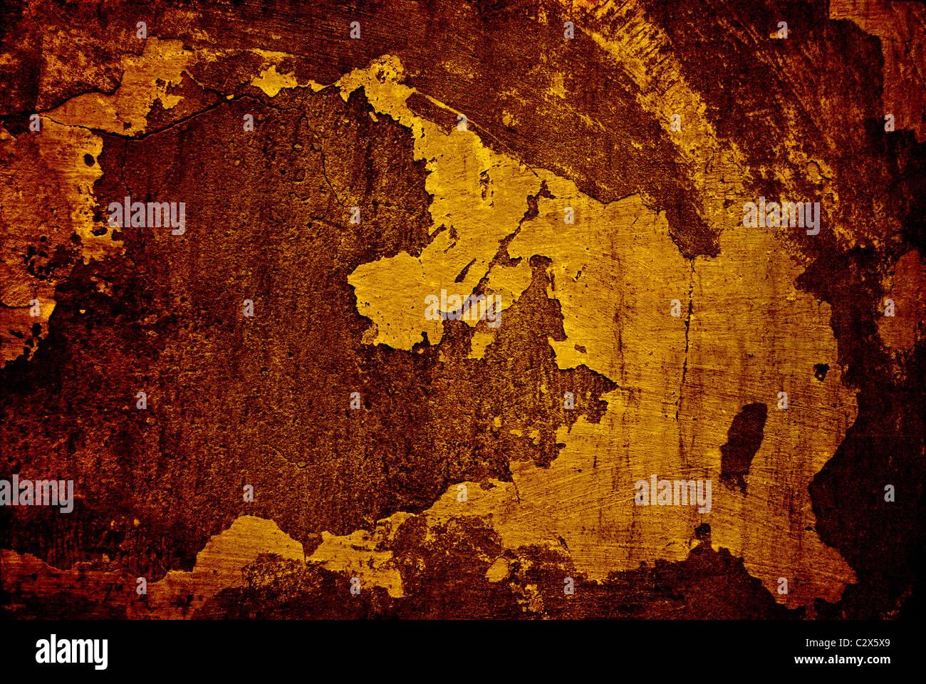 La texture de la surface du mur sale Photo Stock