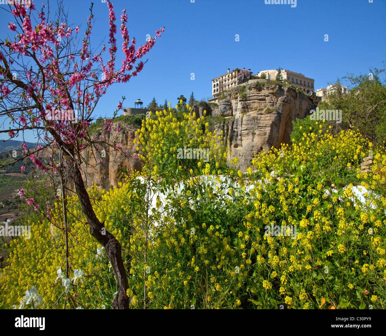 Es - andalousie ronda historique: Photo Stock