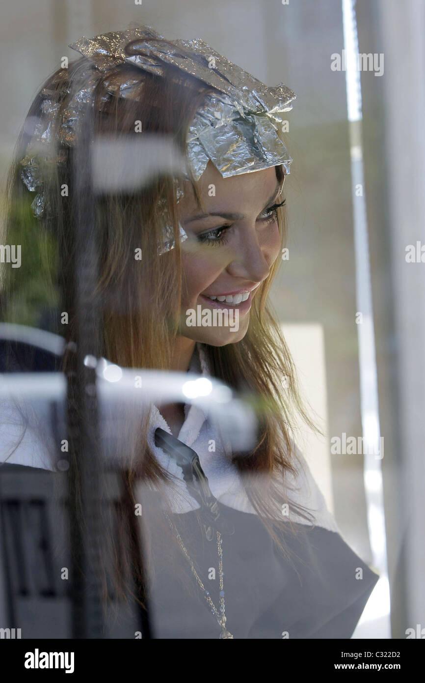Danse avec les Stars'' Karina Smirnoff est embarrassés après un article de magazine sur elle et Photo Stock