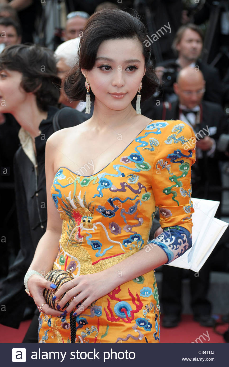 Fan Bingbing, 63° festival de Cannes Photo Stock