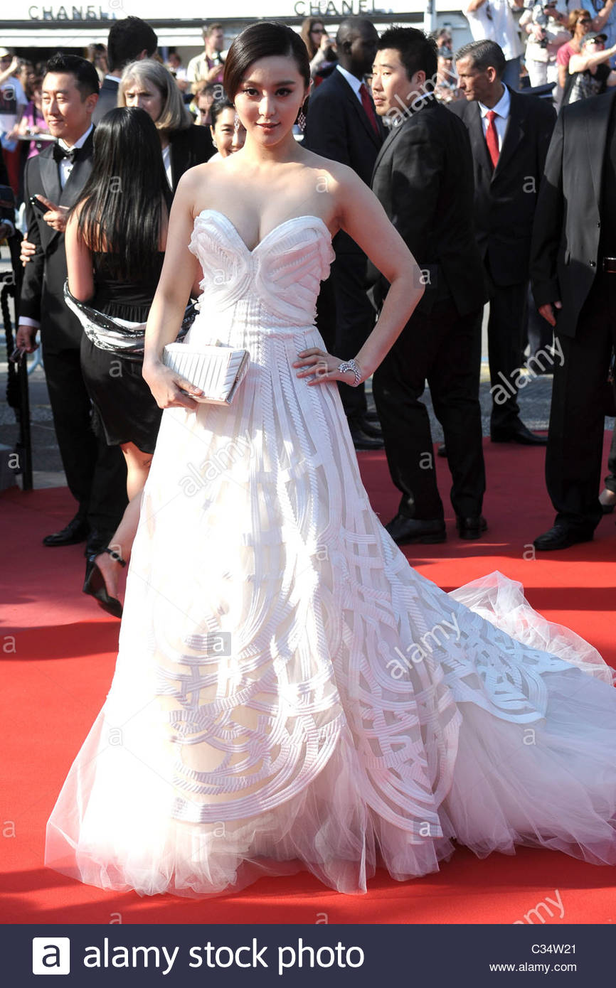 Fan Bing Bing'63° festival de Cannes, 63° festival de Cannes Photo Stock