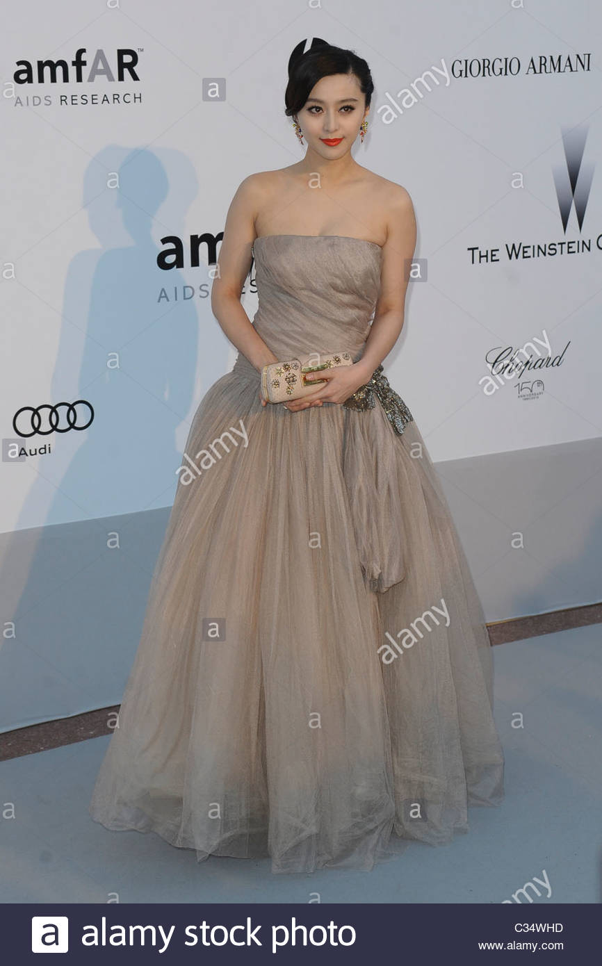 Fan Bing Bing, 63° festival de Cannes Photo Stock
