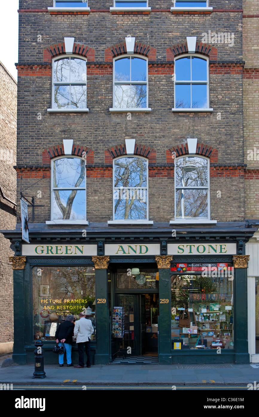 Pierre et vert, Londres Photo Stock