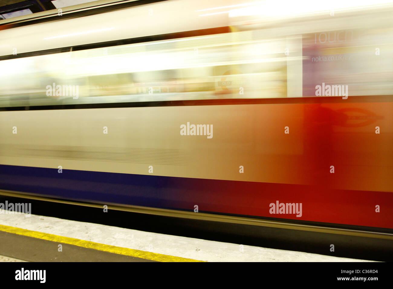 Métro de Londres Photo Stock