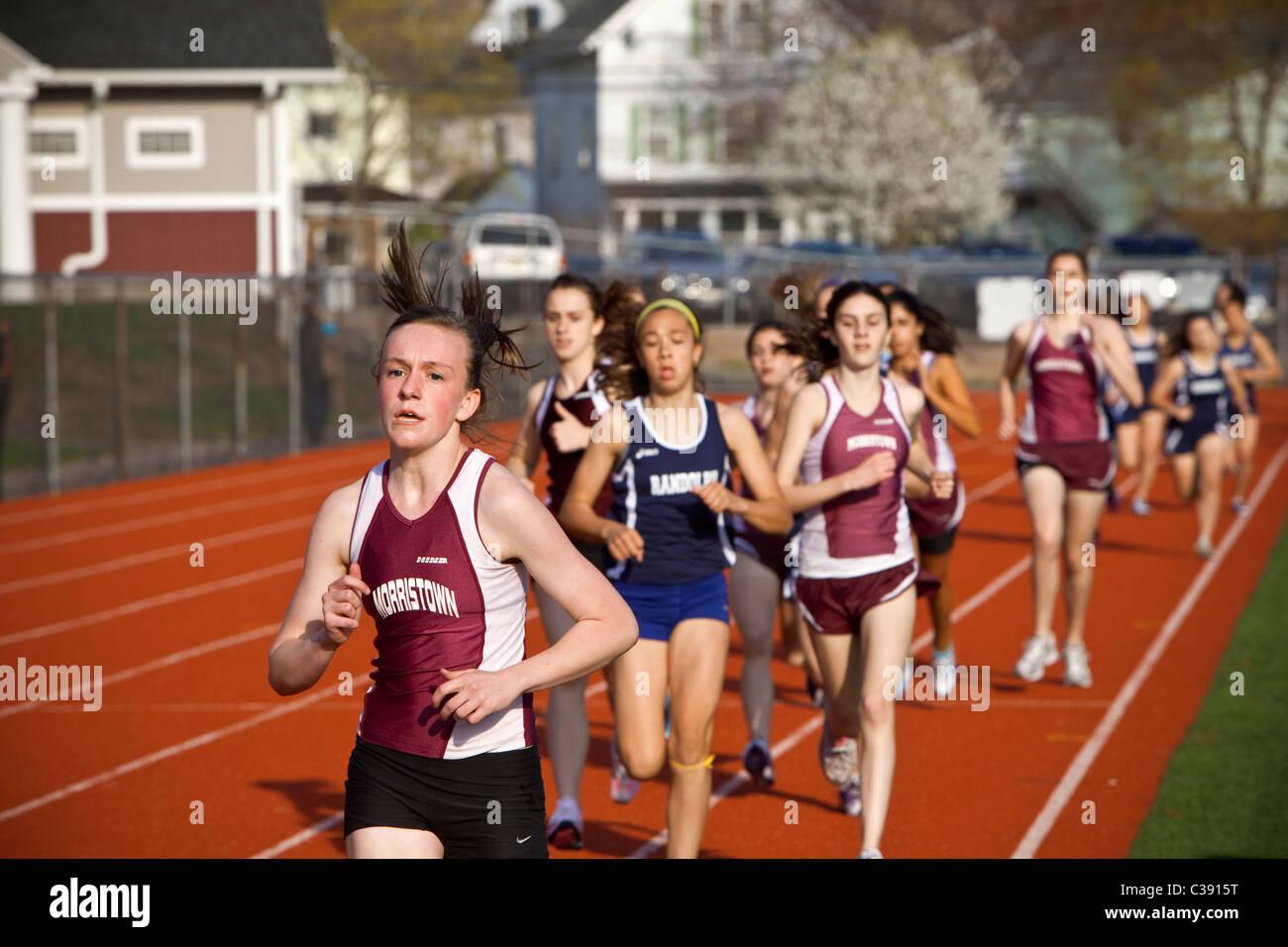Coureurs longue distance Photo Stock