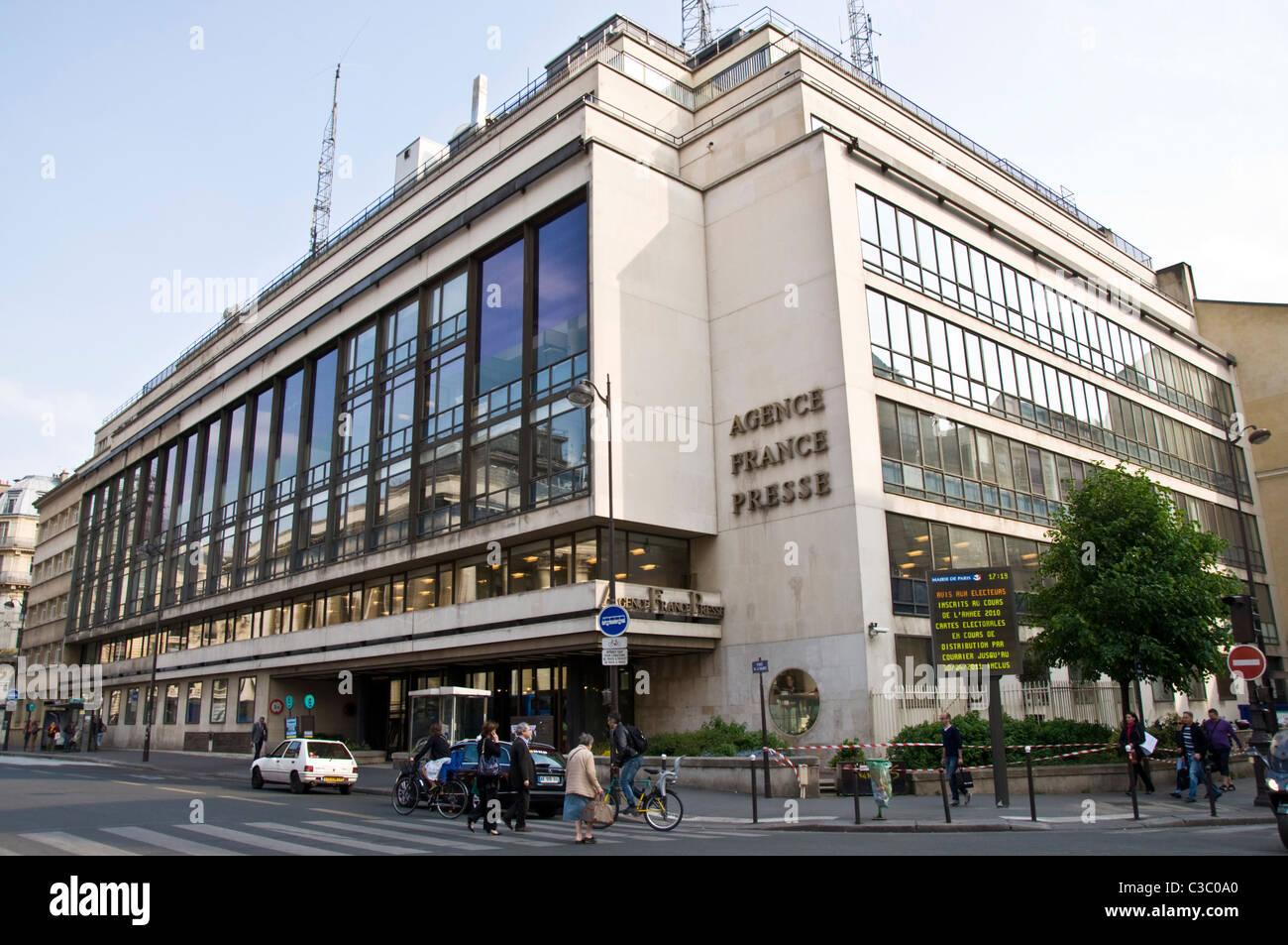 Des bureaux de l agence de presse agence france presse afp banque