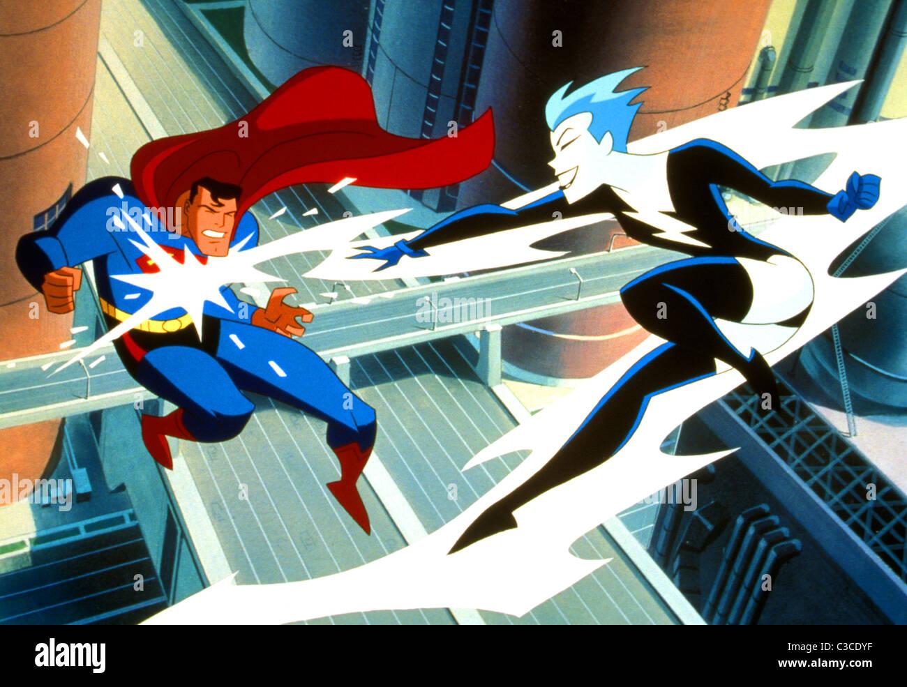 SUPERMAN SUPERMAN Animated Adventures (1966) Photo Stock
