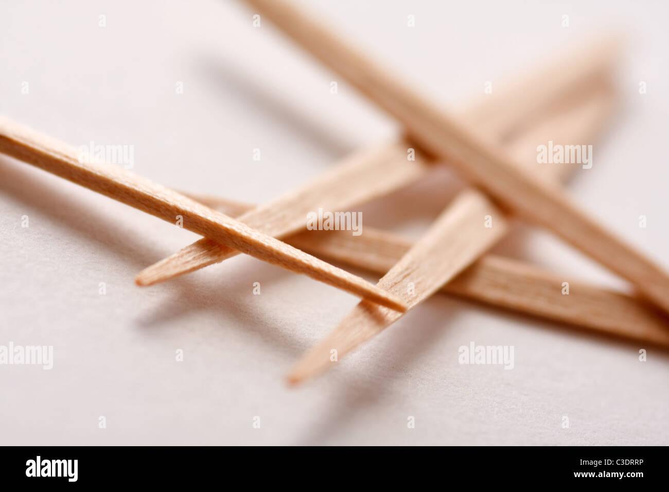 Sagesse Bâtonnets dentaires Photo Stock