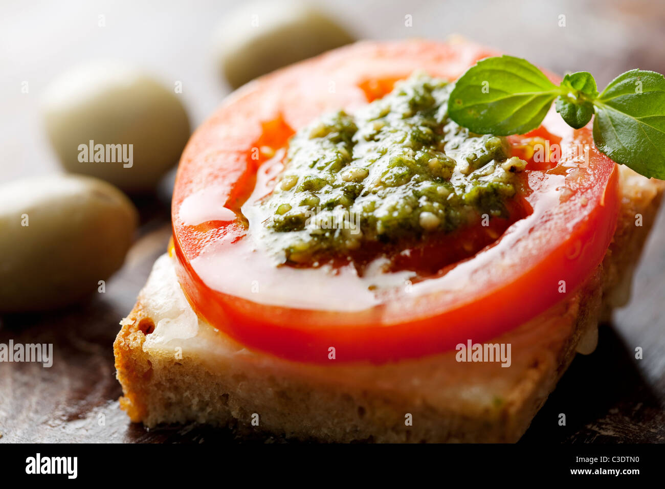 La bruschetta Photo Stock