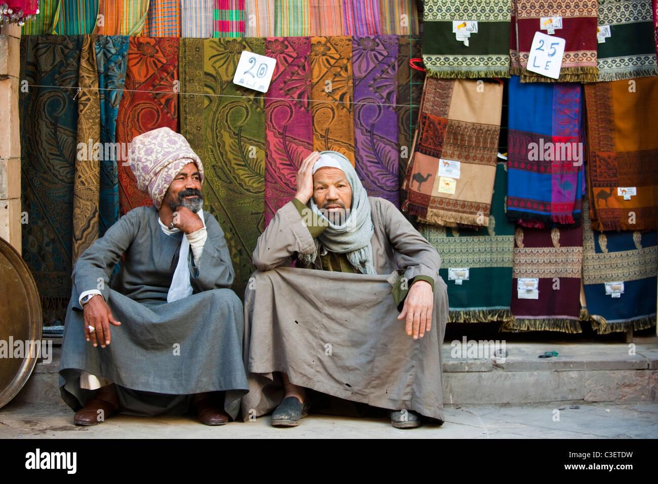 Aegypten, Luxor, Souk de GI Photo Stock