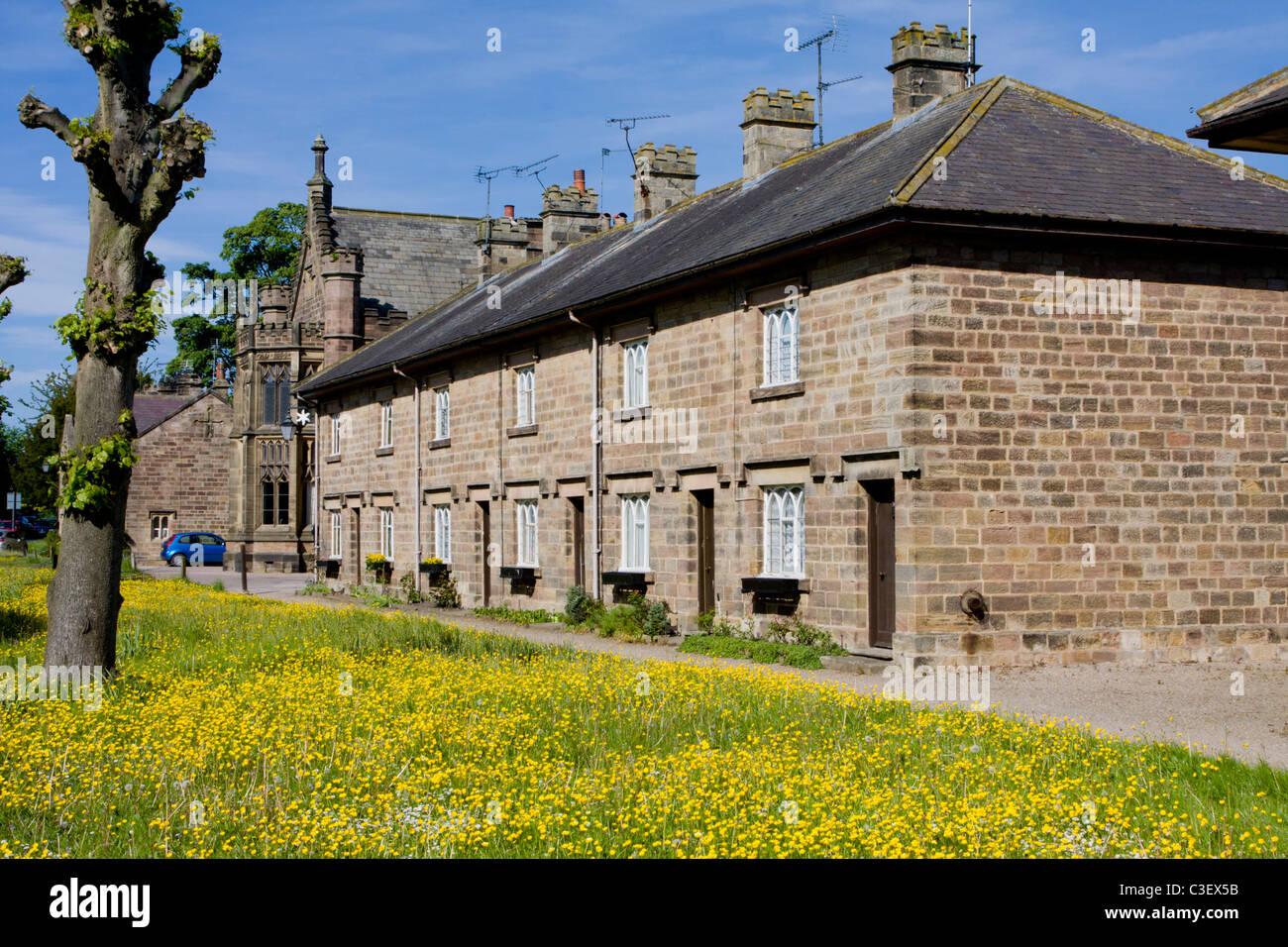 Ripley Village North Yorkshire UK Photo Stock