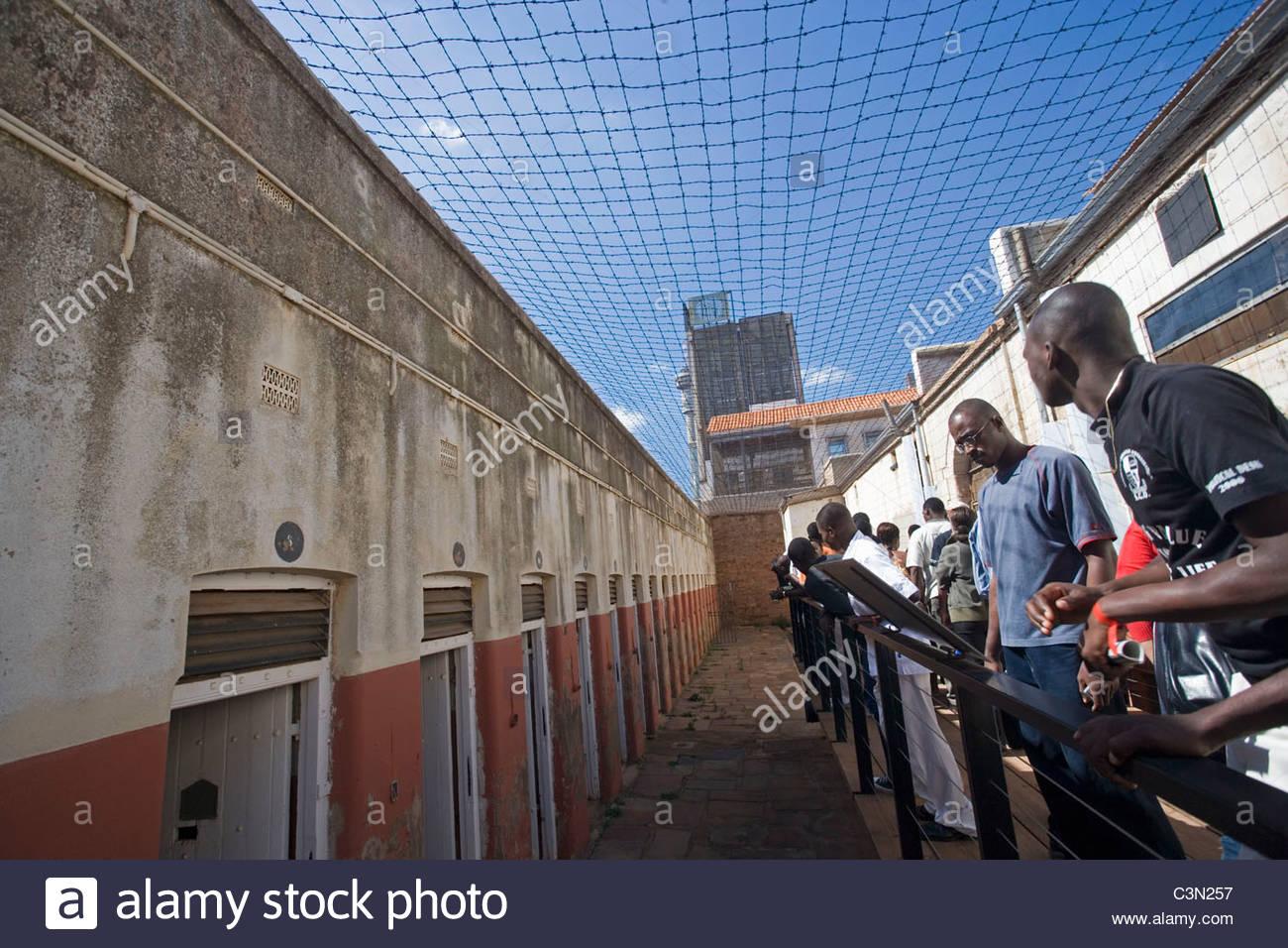 L'Afrique du Sud. Johannesburg. Constitution Hill. Photo Stock