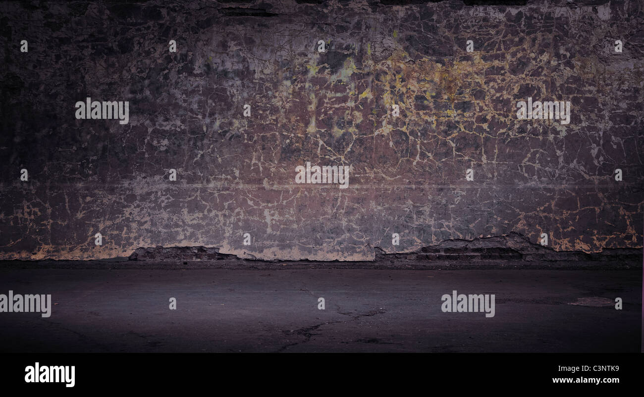 Grunge vintage wall Photo Stock