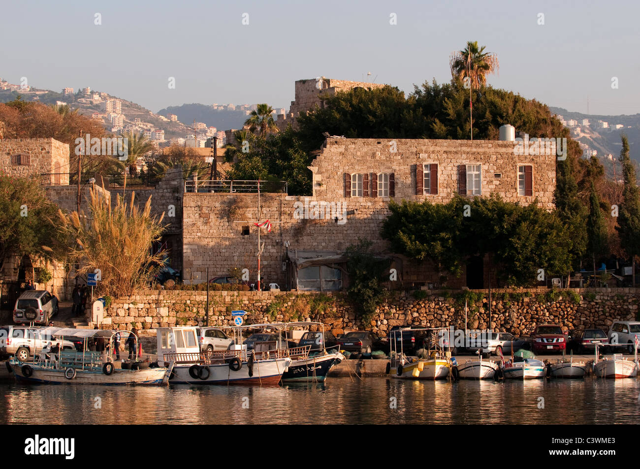 Le port de Byblos Beyrouth Liban Photo Stock