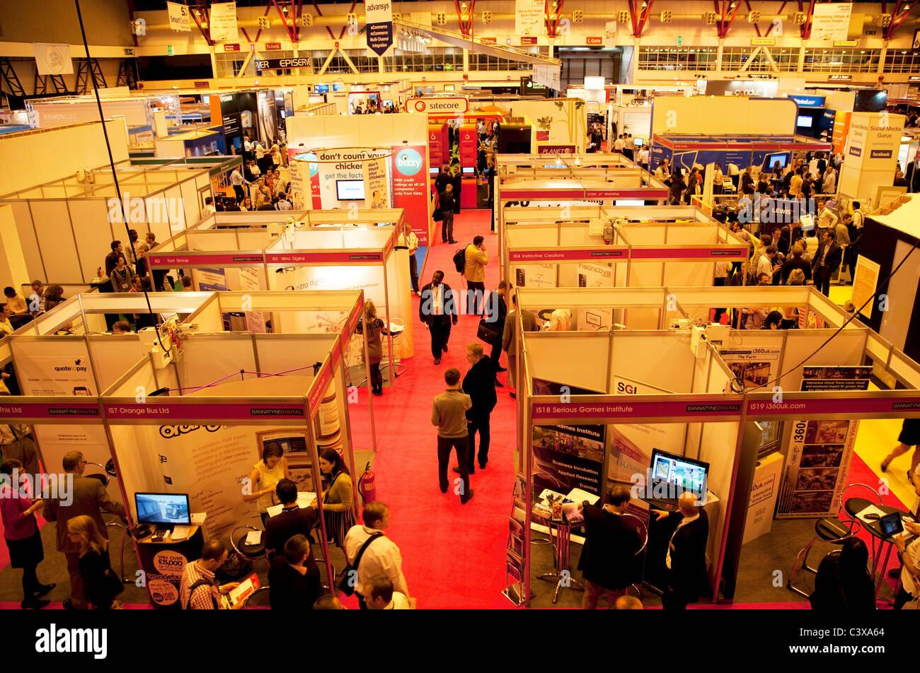 Internet World trade show à Earls Court, Londres Banque D'Images