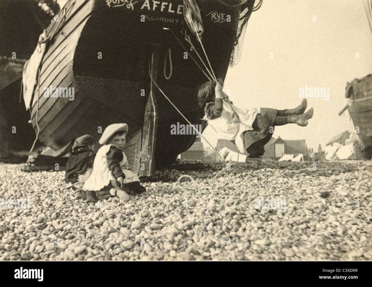 La rotation, la photo Paul Martin. L'Angleterre, c.1896 Banque D'Images