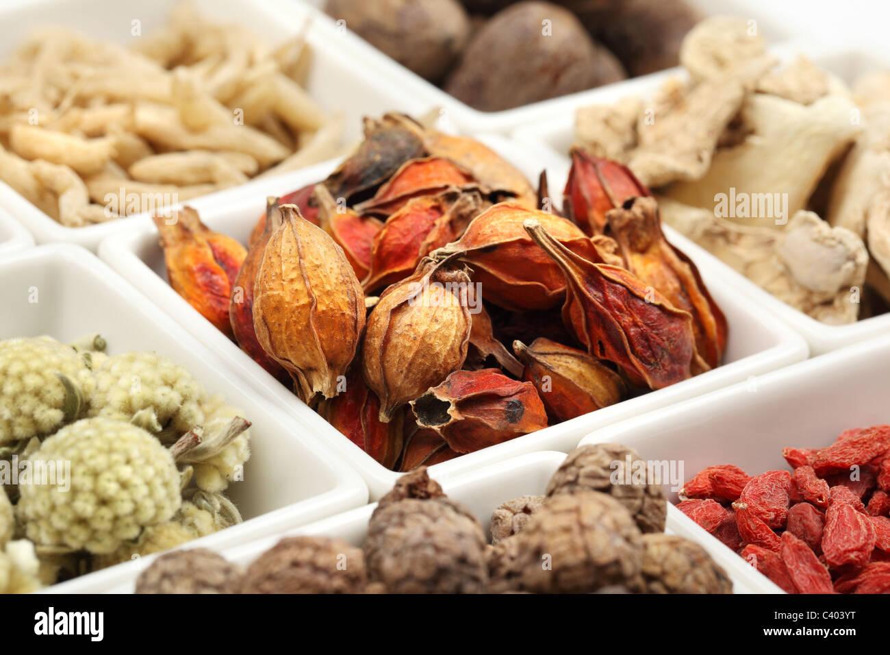 Libre de la médecine traditionnelle chinoise Banque D'Images